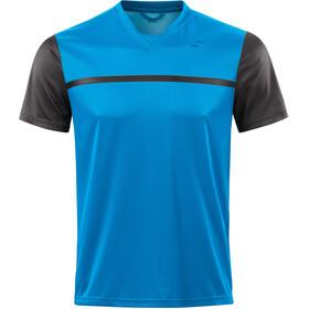 SQUARE Sport Koszulka kolarska, krótki rękaw Mężczyźni niebieski